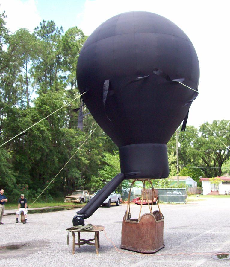 Civil War Hot Air Balloon